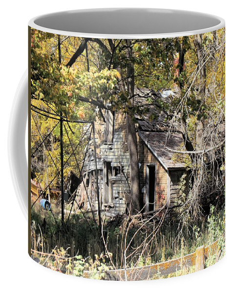 Abandoned Coffee Mug featuring the photograph Abandonment by Bonfire Photography