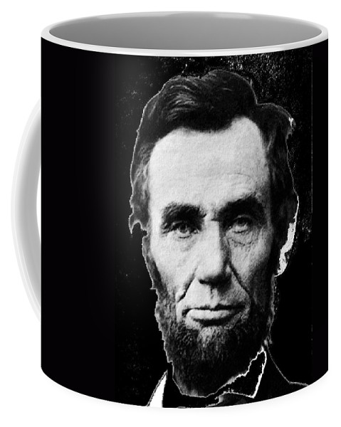 Abraham Lincoln 1 Alexander Gardner Photo Washington D.c. Coffee Mug featuring the photograph Abraham Lincoln 1 Alexander Gardner Photo Washington D.c. C. 1864 by David Lee Guss