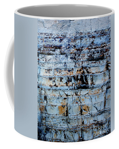 Abstract Coffee Mug featuring the photograph Abstract 01 by Gee Lyon
