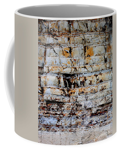 Abstract Coffee Mug featuring the photograph Abstract 01c by Gee Lyon