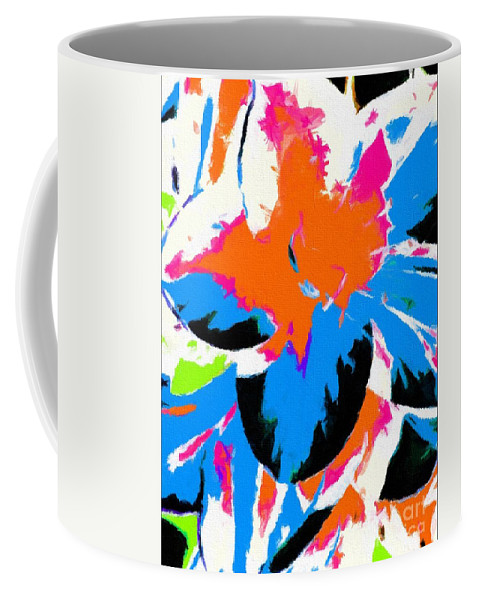 Abstract 110 Coffee Mug featuring the digital art Abstract 110 by Barbara Griffin