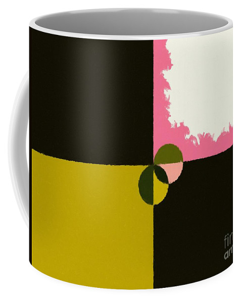 Barbara Griffin Coffee Mug featuring the painting Abstract 114 by Barbara Griffin