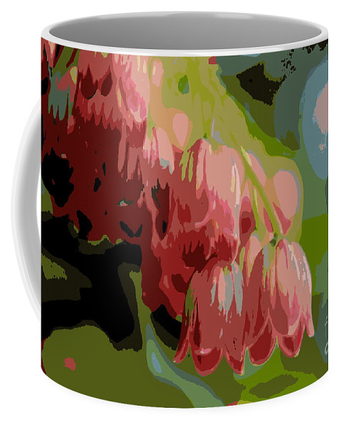 Plant Coffee Mug featuring the photograph Abstract Coral Bells by Kenny Glotfelty