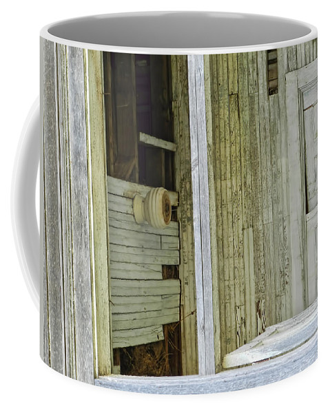 Doors Coffee Mug featuring the photograph Abstract Doors by Cathy Anderson