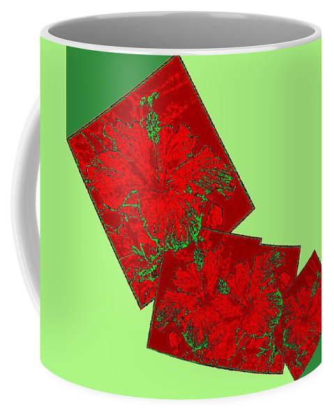 Abstract Fusion Coffee Mug featuring the digital art Abstract Fusion 172 by Will Borden