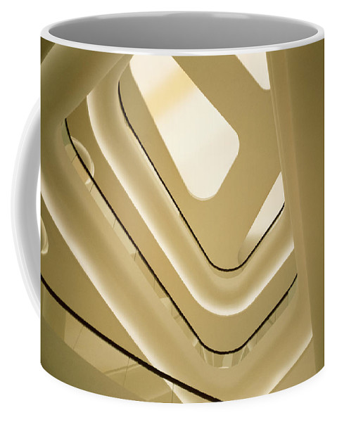 Surreal Coffee Mug featuring the photograph Abstract Geometry by Shaun Higson