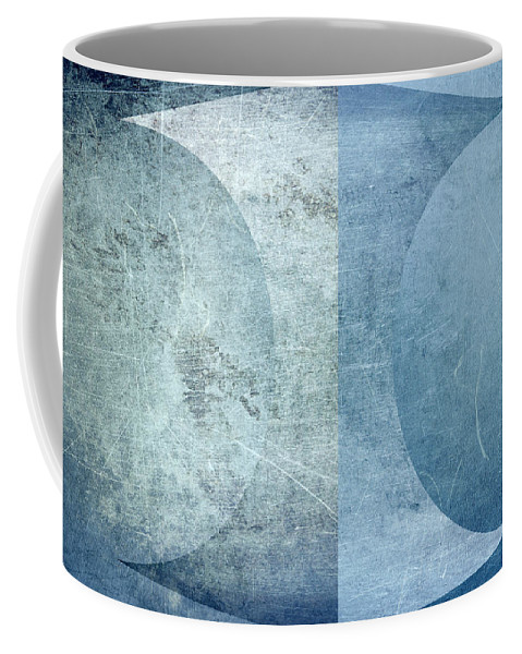 Texture Coffee Mug featuring the digital art Abstract Metal 2 by Steve Ball