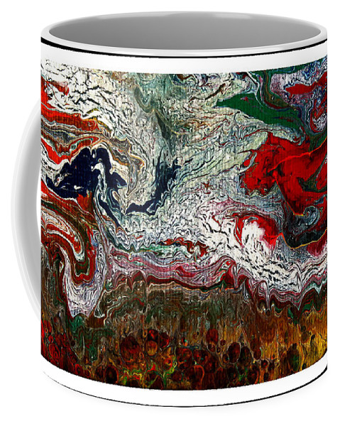 Abstract Art Coffee Mug featuring the photograph Abstract Number 32 by Rebecca Malo