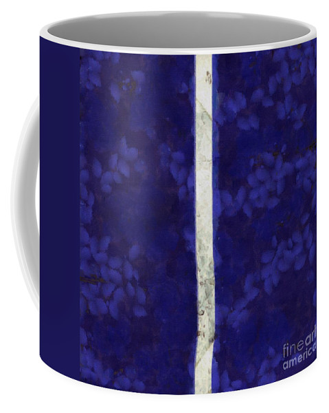 Abstract Coffee Mug featuring the photograph Abstract Rectangles Iv by Edward Fielding
