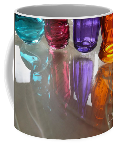 Abstract Coffee Mug featuring the photograph Abstract Reflections #4 by Robyn King
