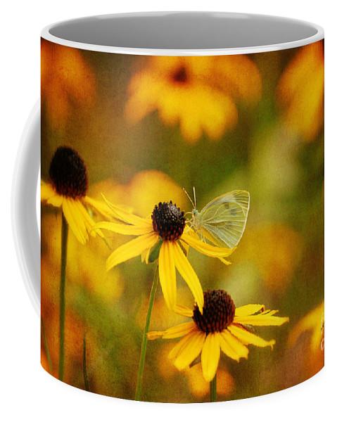 Butterfly Coffee Mug featuring the photograph Abundance by Lois Bryan