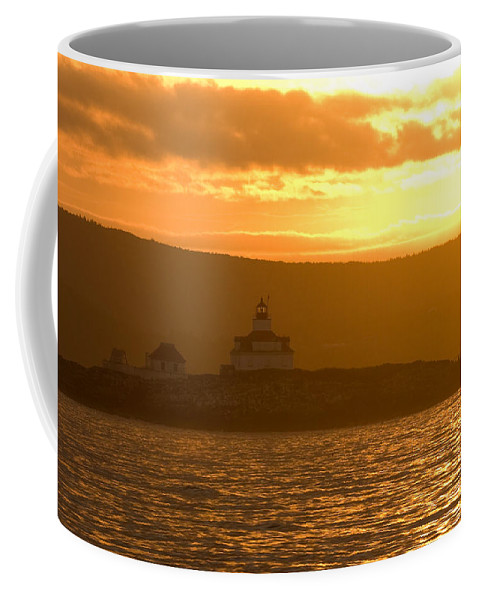 Acadia National Park Coffee Mug featuring the photograph Acadia Lighthouse by Sebastian Musial