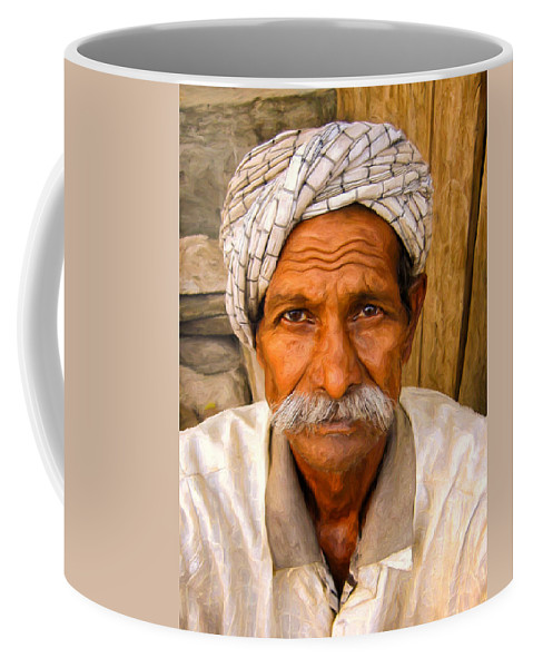 Acceptance Coffee Mug featuring the painting Acceptance by Dominic Piperata
