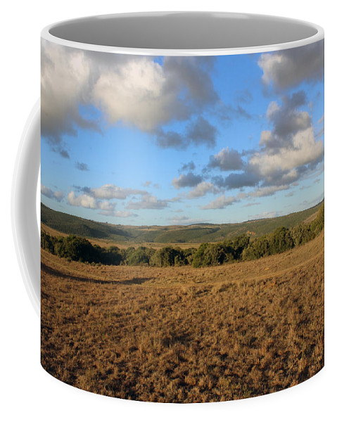 Shamwari Coffee Mug featuring the photograph Across The Plains by Chris Whittle