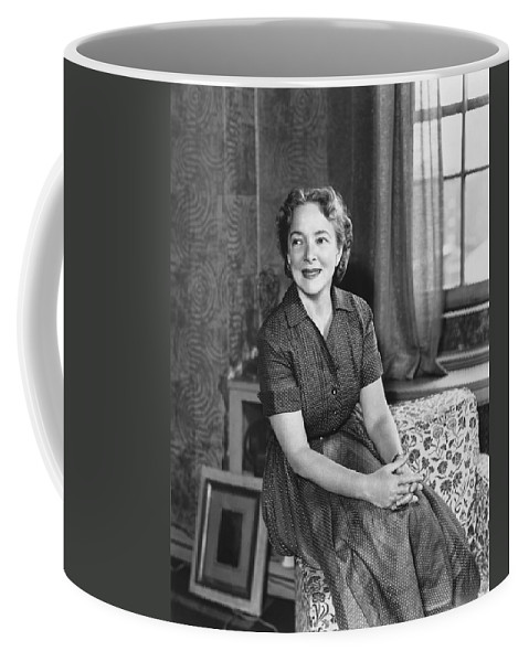 1954 Coffee Mug featuring the photograph Actress Helen Hayes by Underwood Archives