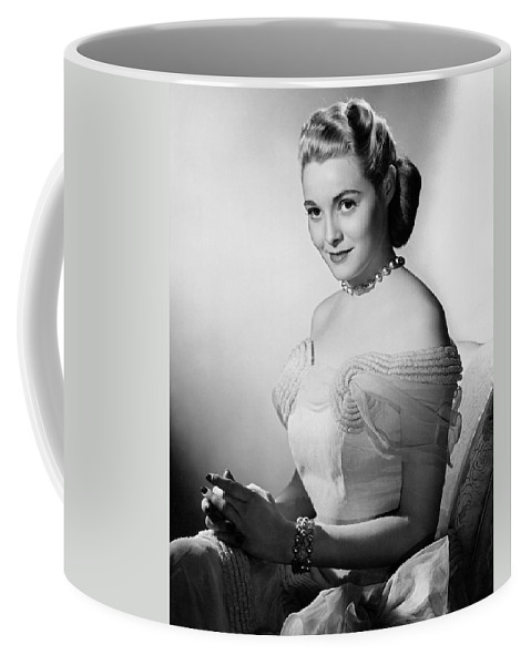 1951 Coffee Mug featuring the photograph Actress Patricia Neal by Underwood Archives