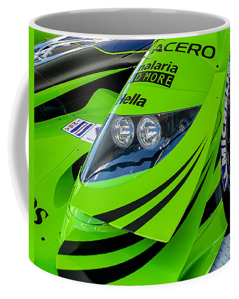 Racing Coffee Mug featuring the photograph Acura Patron Car by Scott Wyatt