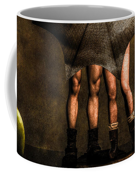 Adam Coffee Mug featuring the photograph Adam And Eve by Bob Orsillo