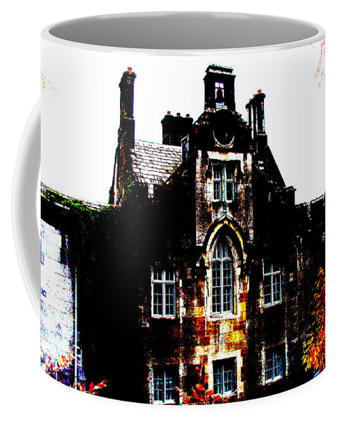 Castle Coffee Mug featuring the photograph Adare Manor by Charlie and Norma Brock