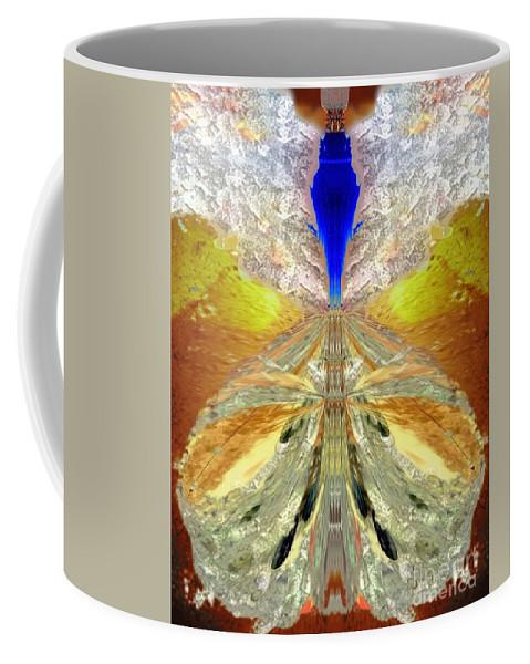 Angel Coffee Mug featuring the digital art Adonael by Raymel Garcia