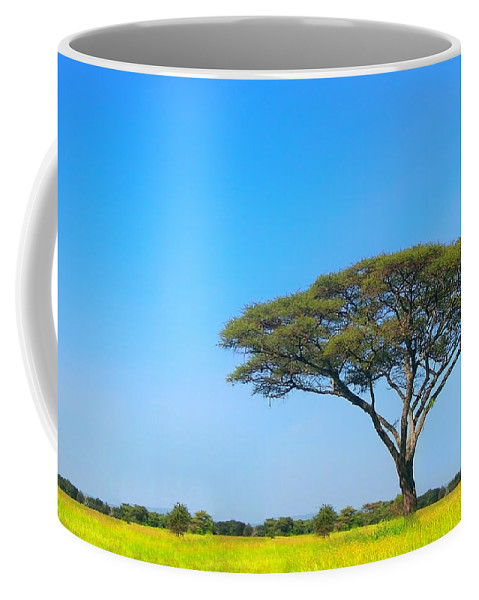 Africa Coffee Mug featuring the photograph Africa by Sebastian Musial