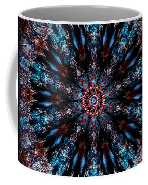 After Coffee Mug featuring the digital art After Midnight by Michael Damiani