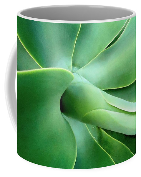 Agave Coffee Mug featuring the photograph Agave Heart by Peter Mooyman