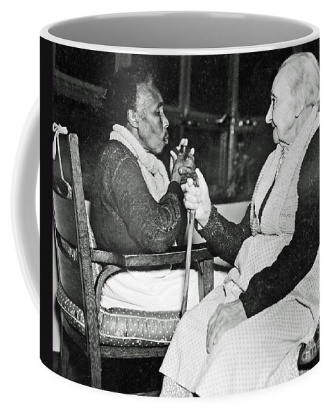 Age Coffee Mug featuring the photograph Age Makes Philosophers Of All by Jost Houk