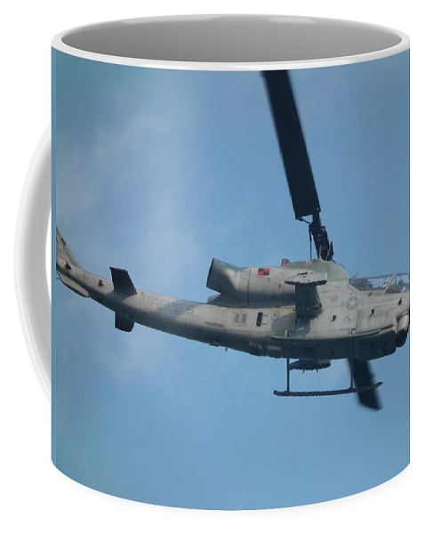 Aviation Coffee Mug featuring the photograph Ah-1 Cobra by Christopher Westbrook