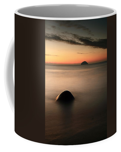 Sunset Coffee Mug featuring the photograph Ailsa Craig Sunset by Grant Glendinning