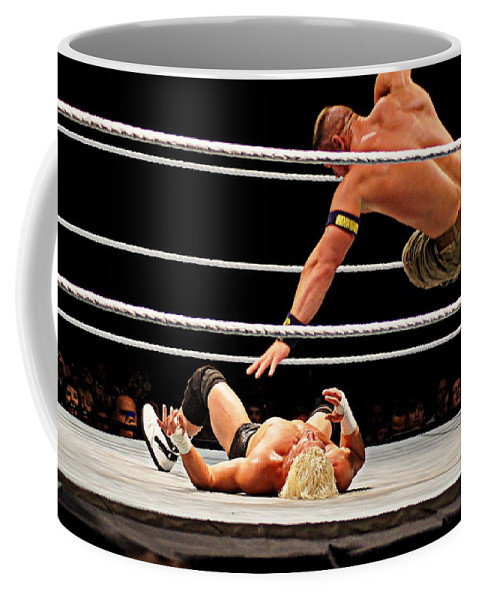 John Cena Coffee Mug featuring the photograph Air Cena by Paul Wilford