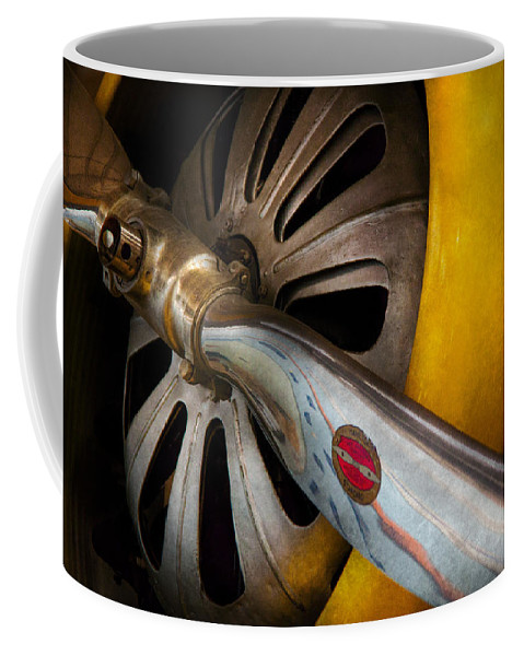 Hdr Coffee Mug featuring the photograph Air - Pilot - Ready For Take Off by Mike Savad