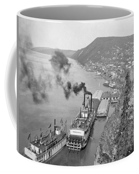 1890 Coffee Mug featuring the photograph Alaska Waterfront by Granger