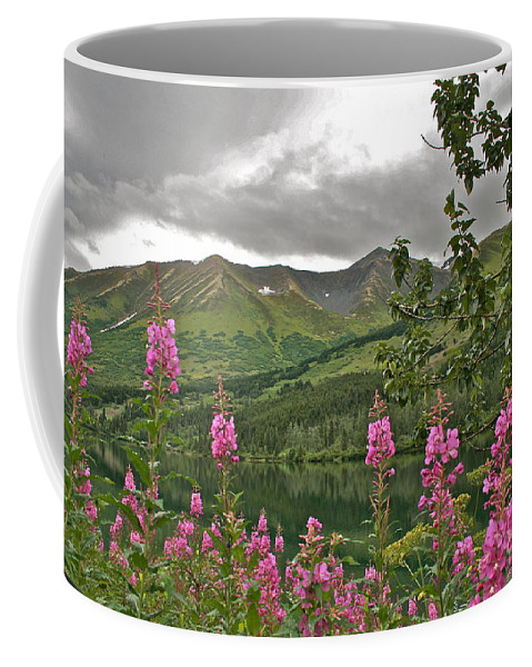 Alaska Coffee Mug featuring the photograph Alaskan Summer by Rick Monyahan