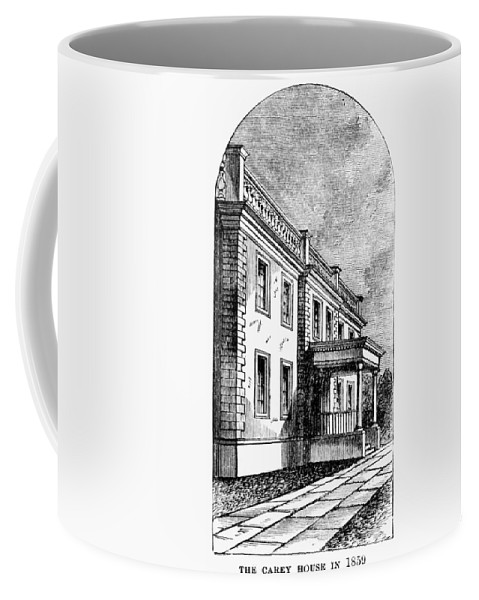 1883 Coffee Mug featuring the painting Alexandria, Virginia by Granger