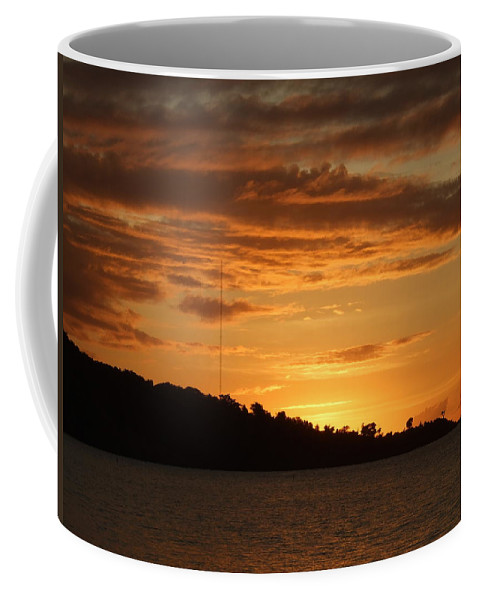 Coffee Mug featuring the photograph Alight With The Sun by Katerina Naumenko