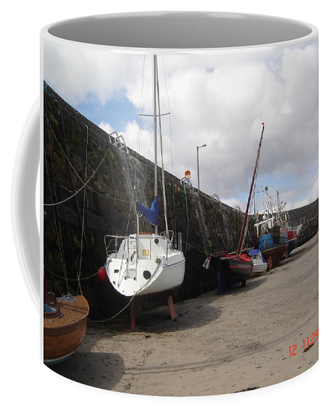 All Coffee Mug featuring the photograph All Aboard For Going Nowhere by Martin Masterson