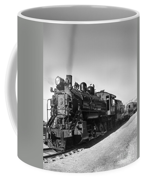 Train Coffee Mug featuring the photograph All Aboard by Robert Bales