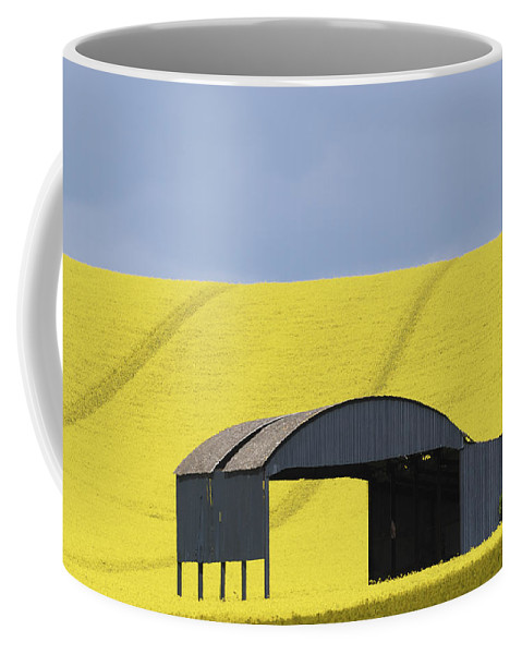 Barn Coffee Mug featuring the photograph All Across The Land 4 by Wendy Wilton