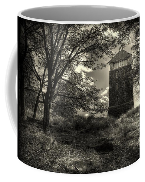 New York Coffee Mug featuring the photograph All Along The Watchtower by Jeff Watts