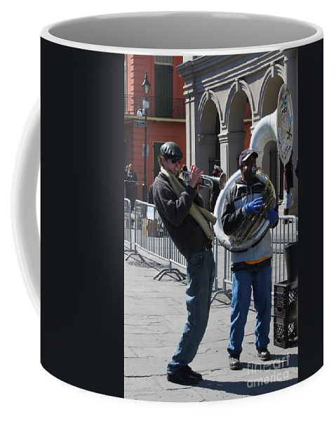 Jazz Muscians Coffee Mug featuring the photograph All That Jazz by Bev Conover