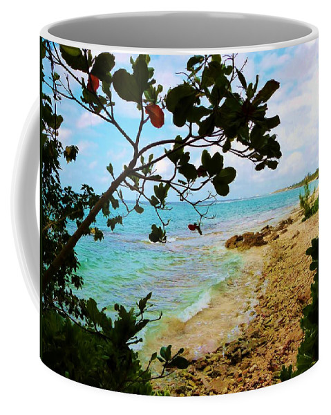 Color Coffee Mug featuring the photograph Almond View by Amar Sheow