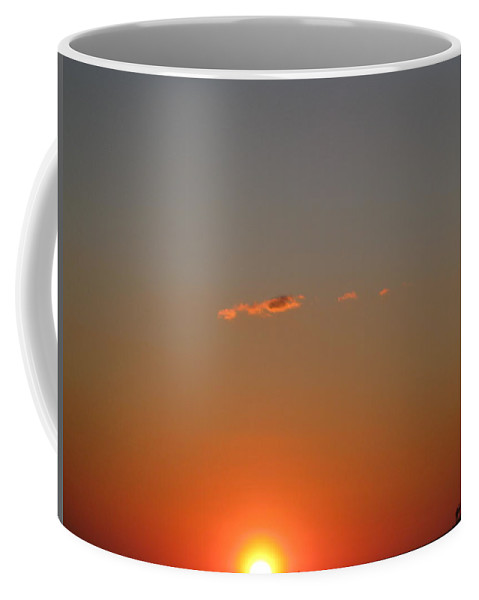 Sunset Coffee Mug featuring the photograph Almost A Perfect Day by David Mayeau