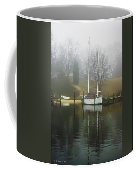 2d Coffee Mug featuring the photograph Almost Winter by Brian Wallace