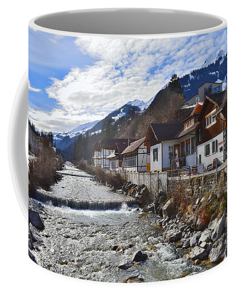 Alps Coffee Mug featuring the photograph Alps Vicinity by Felicia Tica