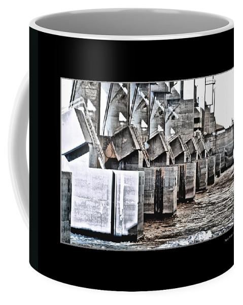 Alton Coffee Mug featuring the photograph Alton Hydro Plant by Larry Jost