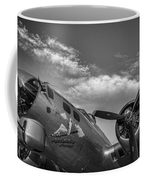 Aviation Coffee Mug featuring the photograph Aluminum Overcast by Nathan Gingles