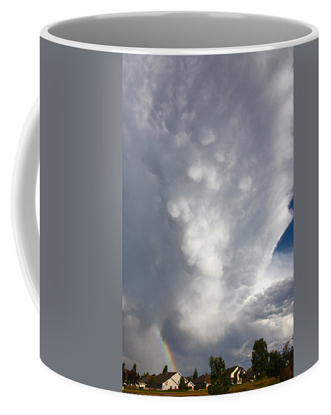 Storm Clouds Coffee Mug featuring the photograph Amazing Storm Clouds by Shane Bechler