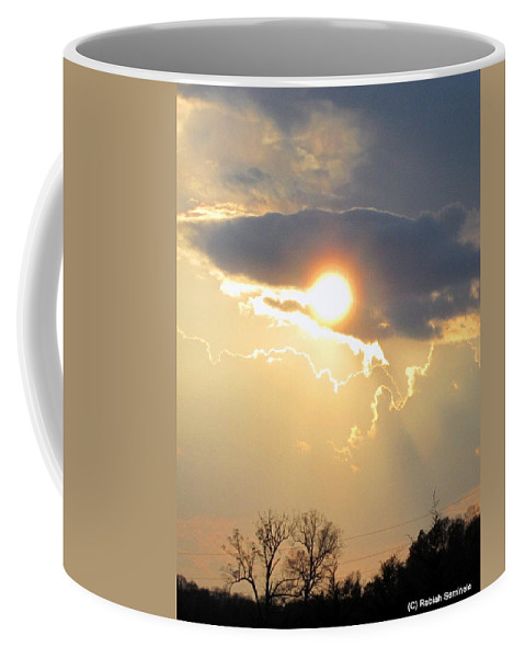 Sunset Coffee Mug featuring the photograph Amazing Sunset by Rabiah Seminole