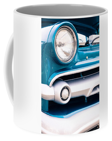 Headlight Coffee Mug featuring the photograph American Classic by Alexey Stiop